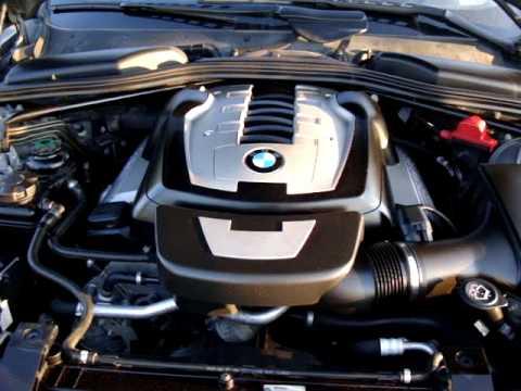 BMW I Sound Exhaust E Coupe Engine V Power YouTube - Bmw 650i engine