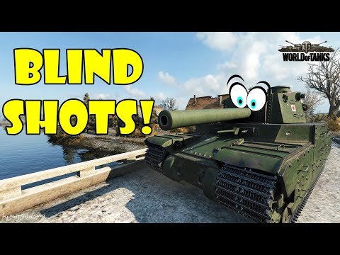 World of Tanks - Funny Moments | BLIND SHOTS & RNG SHOTS! (March 2018)