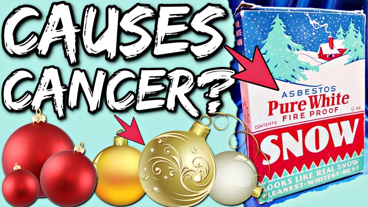 Do Christmas Decorations Cause Cancer? Asbestos Christmas