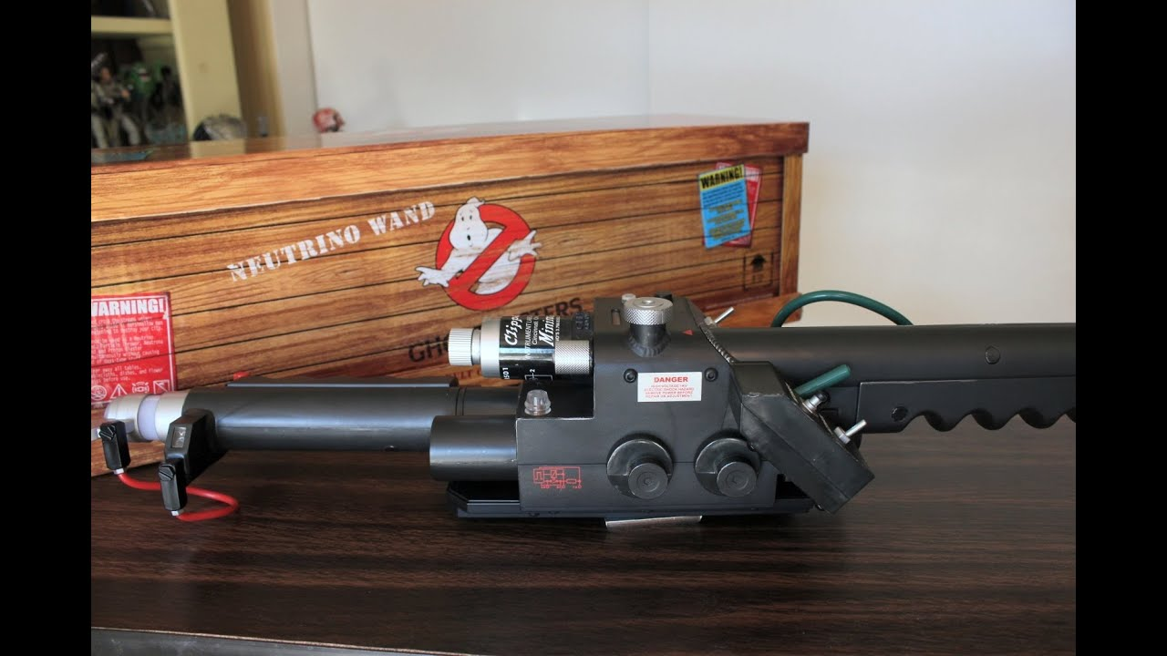 Mattel Ghostbusters Neutrino Wand Review Youtube