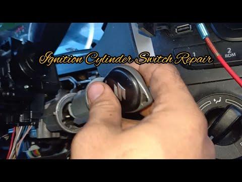 Ignition switch repair ( SUZUKI vehicle w/ immobilizer ).