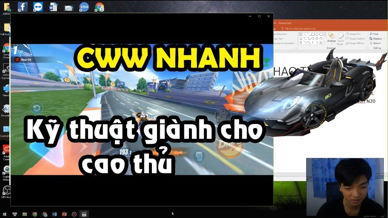 Download Boost 2 lần nhanh và CWW nhanh - Cẩm Nang Kỹ Năng ZingSpeed Mobile | Phần 2