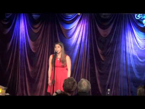 Krista Swan singing' The next time it happens'
