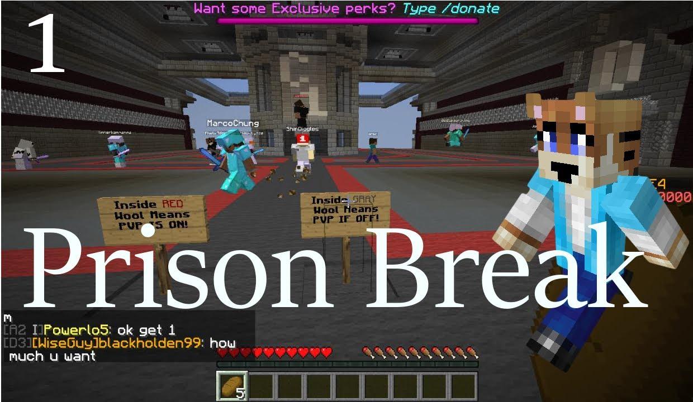 minecraft prison break ssundee
