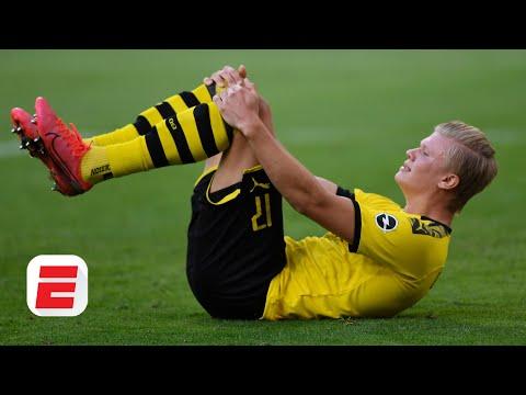 Erling Haaland's Injury Vs. Bayern Munich: Did The Borussia Dortmund Star Lose His Head? | ESPN FC