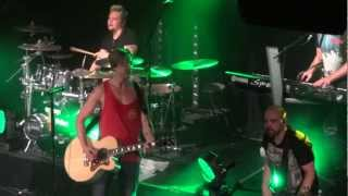 Sunrise Avenue - I Don't Dance & Ghostbusters + medley @ Virgin Oil & Co., Finland 24.3.2012