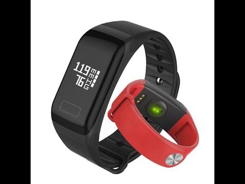 Фитнес браслет WearFit F1 с измерением давления и пульса