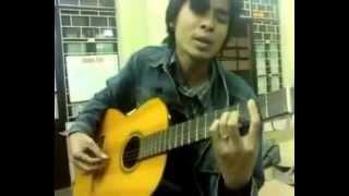 Guitar Cover [Đệm hát] phia sau anh mat buon (cực hay và phiêu) -  thay Viet Dung