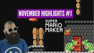 Memorable Levels [II] | Super Expert Twitch Highlights | November Mario Maker