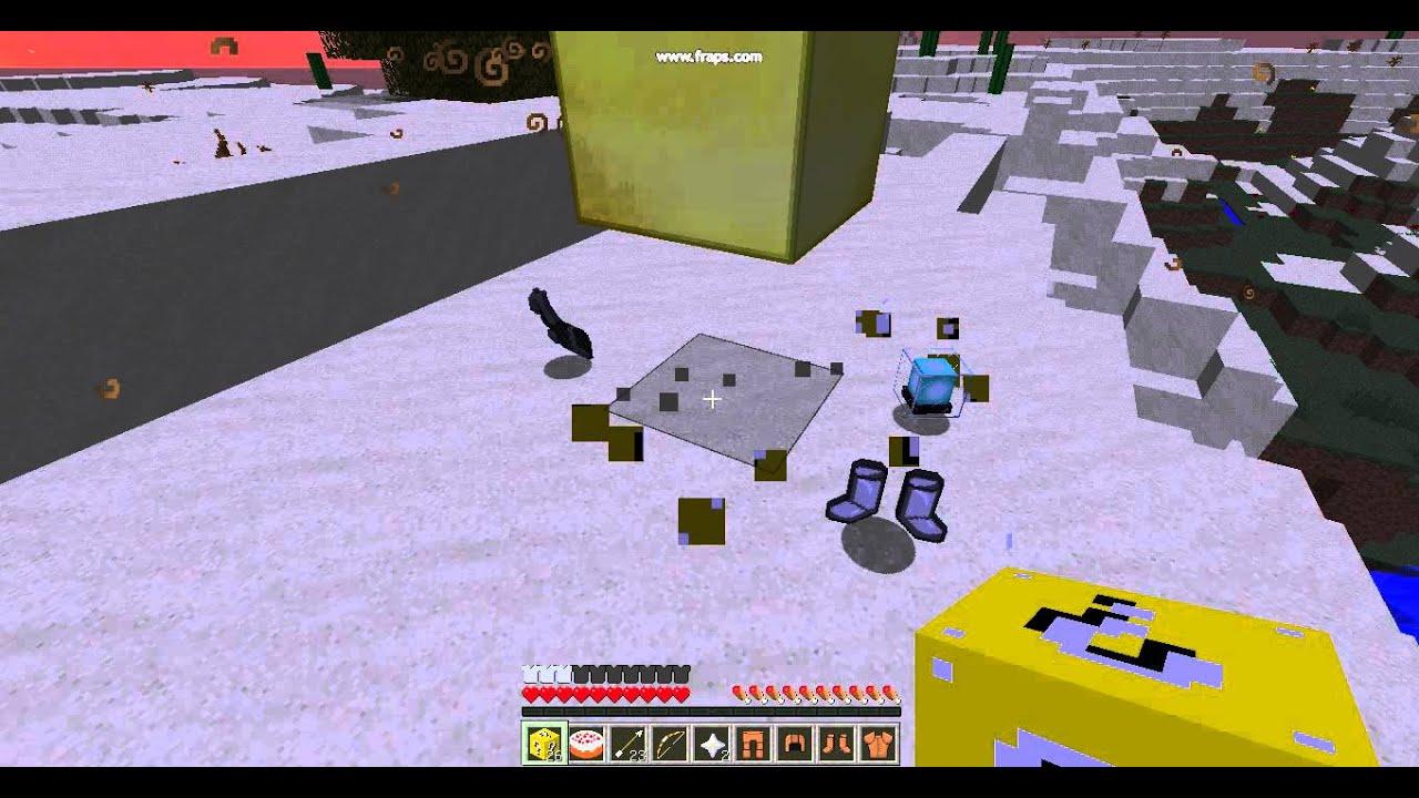 Скачать мод на обычный Лаки блок для Minecraft 1.1.0