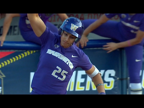 Women's College World Series Highlights: Kirstyn Thomas' insurance homer sends Washington past...