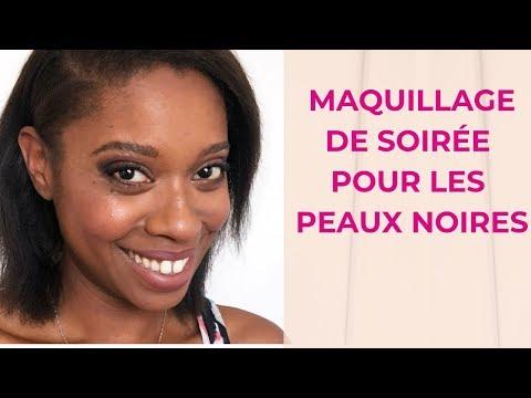 Comment faire un maquillage peau noire de soirée ?