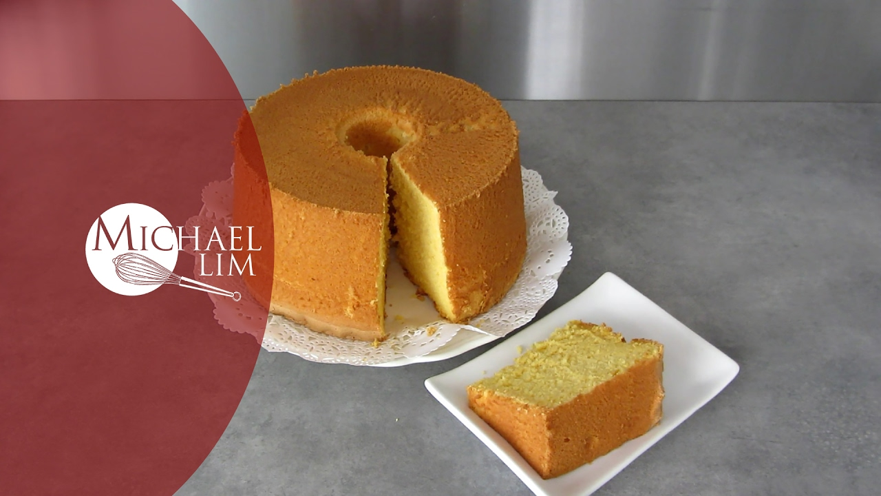 Banana Chiffon Cake Michael Lim