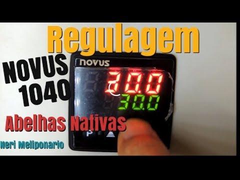 Regulagem da Controladora  NOVUS N1040, Para Caixas de Abelhas e Ligações em Paralelos