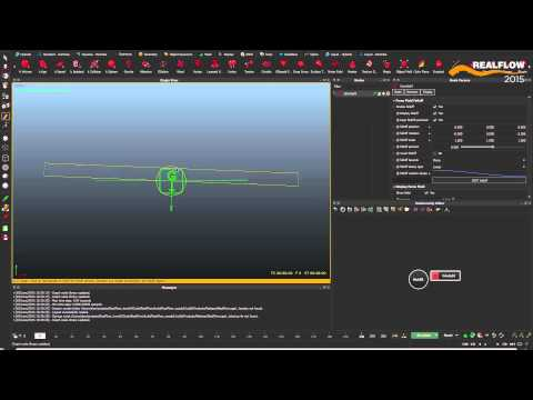 RealFlow 2015 Features: DAEMONS FALLOFF