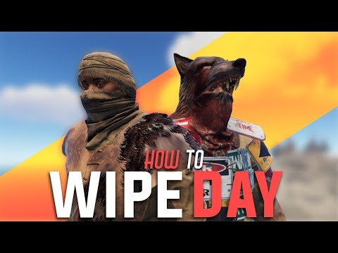 Rust - HOW TO WIPE DAY (Rust Duo Survival) [PART 1/3]
