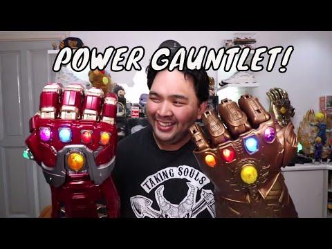 THE IRON MAN POWER GAUNTLET (AVENGERS ENDGAME INFINITY GAUNTLET)