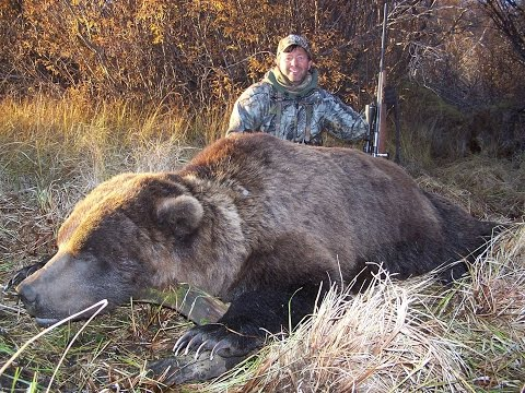 Yukon Grizzly Bear Hunting With Jim Benton Chambered For The Wild And Guide Scott Fontaine