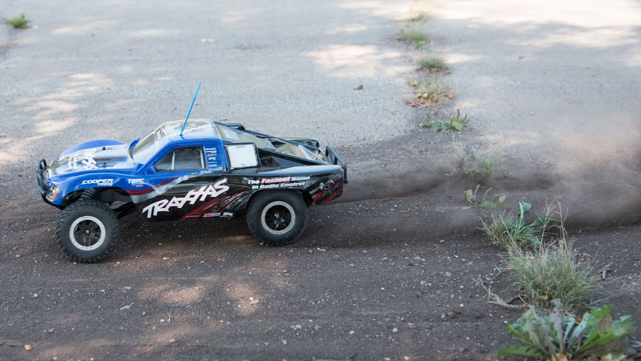 Traxxas Slash First Run and Burnouts RC Truck