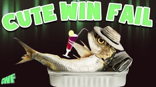 CuteWinFail: Big Bass Fishing | Kissing Fish, Giant Catches, and Falling in Lakes