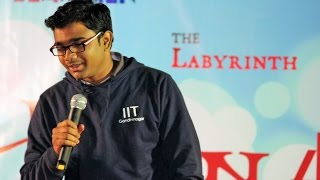 Hilarious Accents- Shubham Patil Stand Up Comedy (Russell Peters style)@ Jashn'15, IIT Gandhinagar