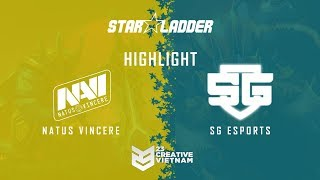 Highlight Starladder ImbaTV 2018 | Na`Vi vs SGE - Bo 3