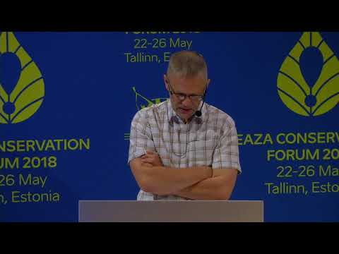 Day 1: 23 May 2018 - EAZA Conservation Forum 2018 live registration Tallinn, Estonia