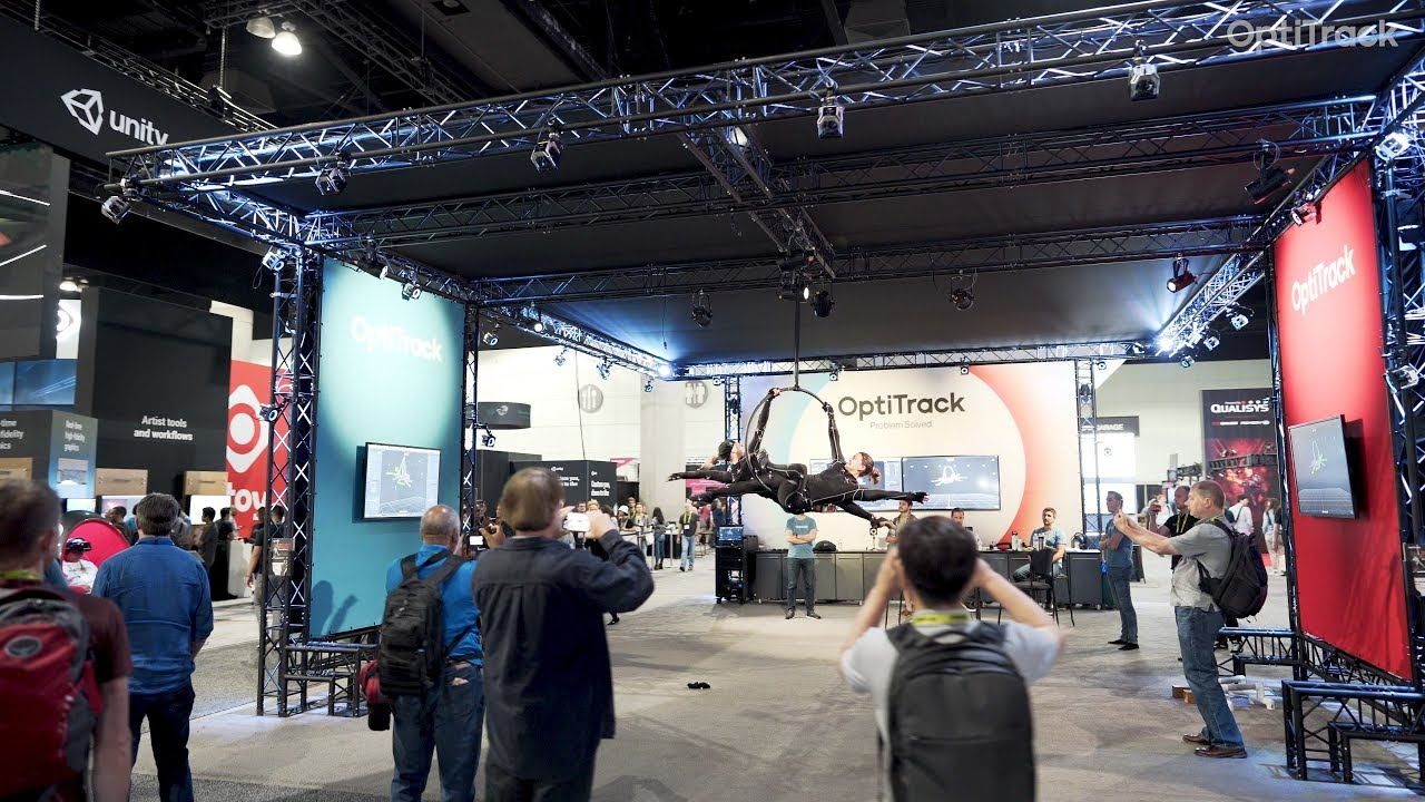 OptiTrack @ SIGGRAPH 2019 ft. Jagged VDF