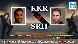 Live IPL 2019 Match 2 Preview | KKR vs SRH | KKR Won by 6 Wickets | NYOOOZ Cric Gully