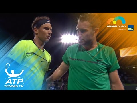 Nadal, Fognini through to semis | Miami Open 2017 Highlights Day 8