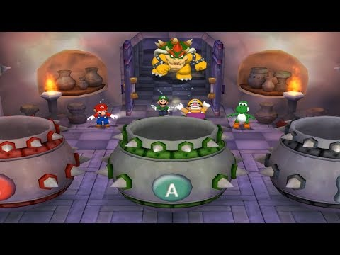 Mario Party 5 - All Bowser and DK Minigames