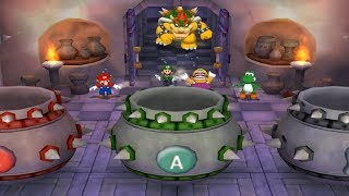 - Mario Party 5 All Bowser and DK Minigames