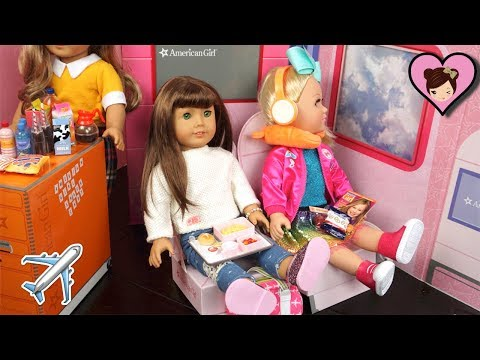 American Girl Airplane Playset with Jojo Siwa Doll - Titi Toys