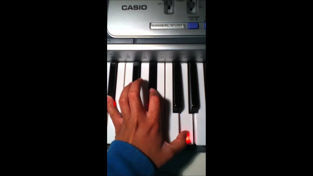 Jar Of Hearts Piano Chords Youtube