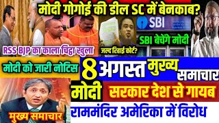 Nonstop News|8 August 2020|Nonstop News|आज की ताजा खबरें|mausam vibhag aaj weather|top news,sbi,modi