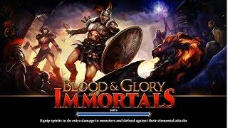 Поиграем ★ Blood & Glory: Immortals ★ Gladiator