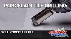 drill porcelain tile - porcelain tile drilling