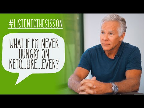 What If I'm Not Hungry on Keto...Like...Ever? #ListenToTheSisson