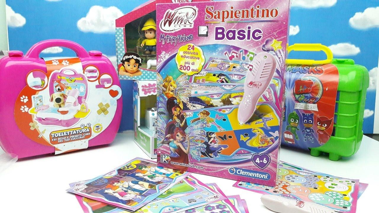 SAPIENTINO BASIC WINX CLUB Ep.2, Giochi Per Bambine