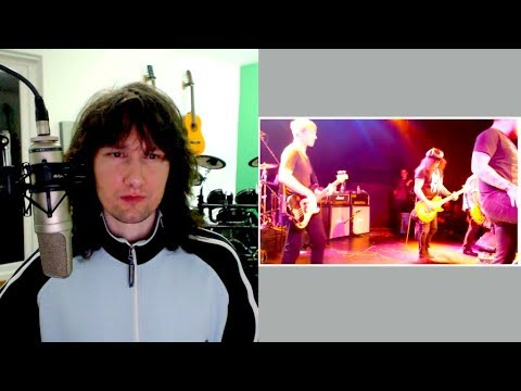 British guitarist reaction to Slash getting stitched up LIVE!
