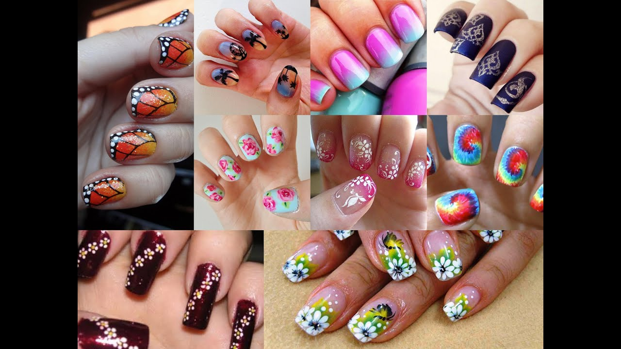 Cute Beautiful Nail Art For All Occasions Party, Wedding, College ...