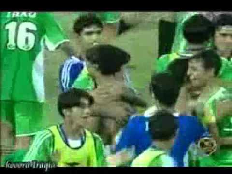 Iraq VS KSA Celebrations