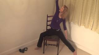 Chair Yoga-Severe Arthritis/Elderly-Part 2. Yoga can help heal series