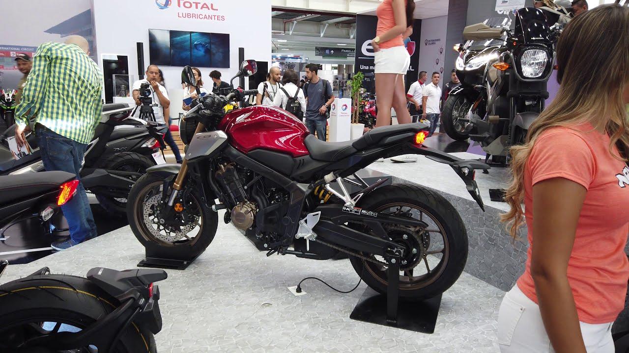 Honda CB650R 2020 En Colombia 4K