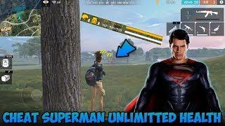 Cheat Superman! Kebal Darah, Kebal Peluru !? - Garena Free Fire