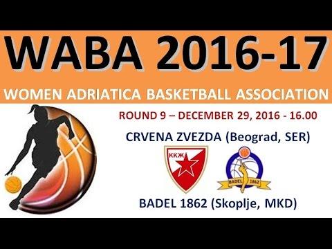 Crvena Zvezda : Badel 1862 - WABA Adriatica Women Basketball League