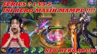 New Hero Argus Full Damage - Hero Baru Paling Gak Wajar OP Banget - Mobile Legends #67