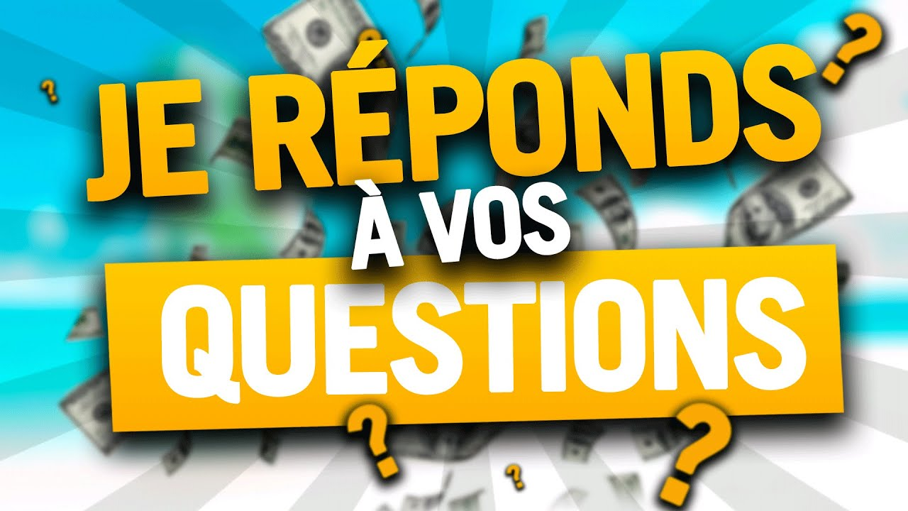 WEBMARKETING : Je réponds à vos QUESTIONS