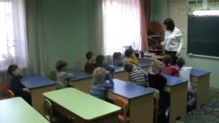 Урок чтения — подготовительная группа в «Академии детства»