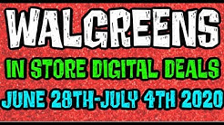 Walgreens Digital Coupons In Store Breakdowns June 28th-July 4th 2020